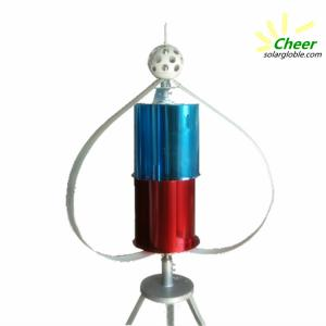 LOW RPM 400W vertical axis wind generator for residential use