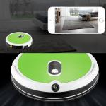 WIFI vacuum cleaning robot with water tank and built-in camera