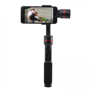 3-Axis Handheld Phone Gimbal Steadicam Stabilizer Clamp Mount with Tripod Holder for 4.7 - 5.5 inch Smartphones with iOS