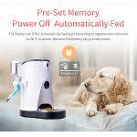 Smart wifi Pet Feeder with built-in camera food and water Feeder 2 in 1